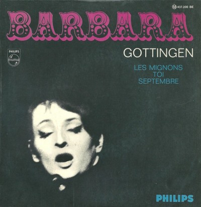 Coperta disc Barbara - Gottingen