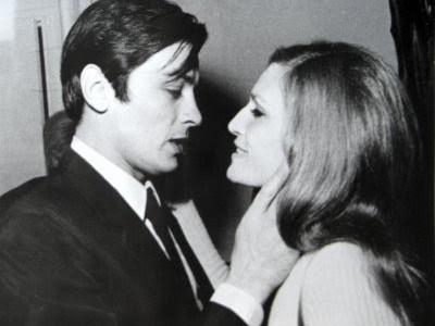 Dalida si Alain Delon
